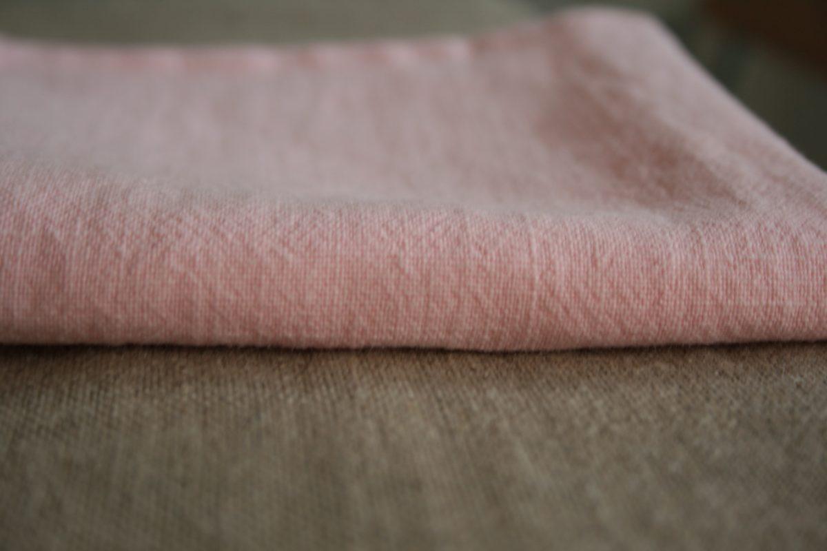 serviette-lin-rose-sakura