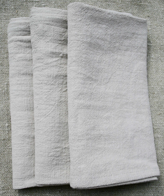 serviette-table-lin-blanche